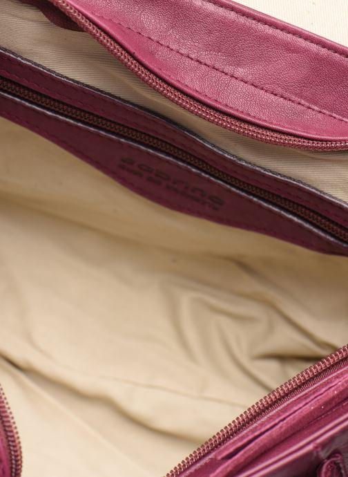 Handtassen Sabrina BERTILLE Paars achterkant