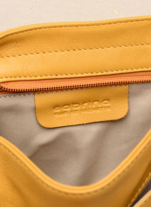 Handtassen Sabrina LUCE Geel achterkant