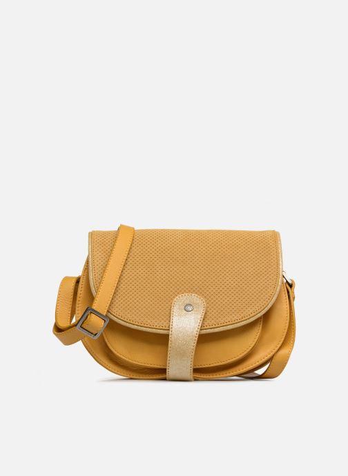 Handtassen Sabrina LUCE Geel detail