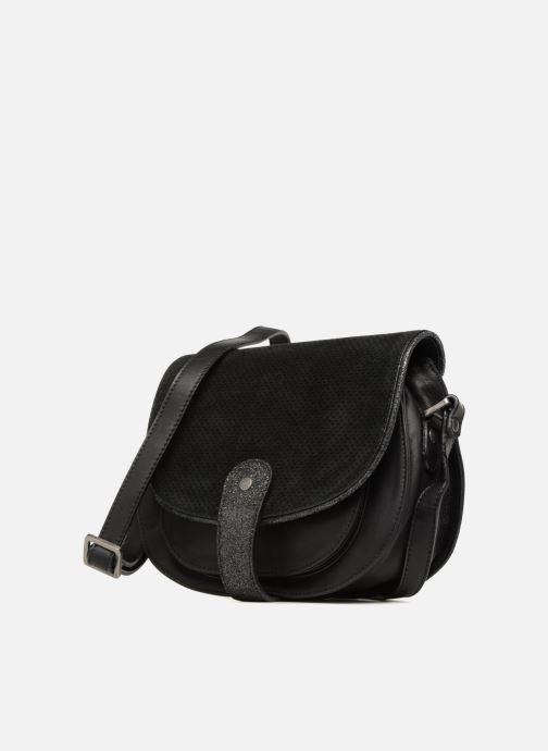 Handtaschen Sabrina LUCE schwarz schuhe getragen