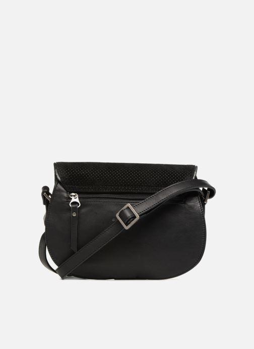 Handtaschen Sabrina LUCE schwarz ansicht von vorne