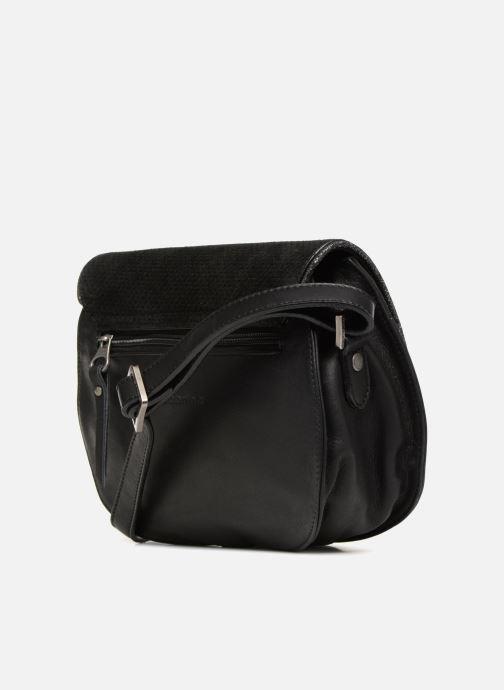 Handtaschen Sabrina LUCE schwarz ansicht von rechts