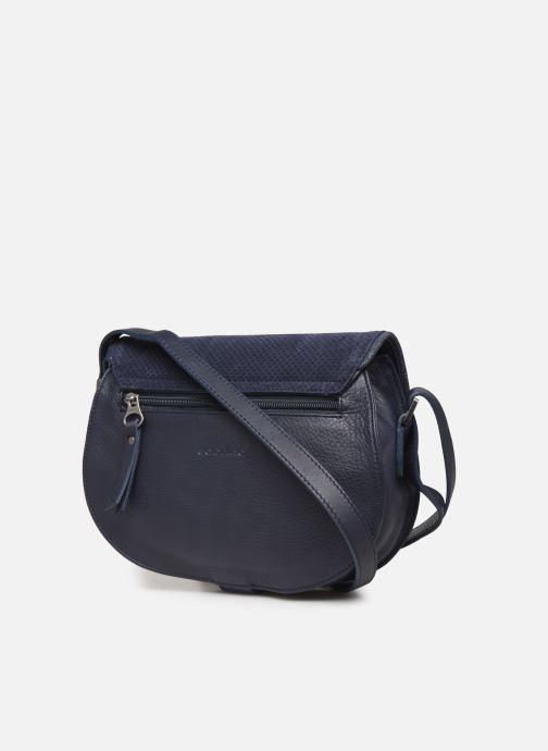 Bolsos de mano Sabrina LUCE Azul vista lateral derecha