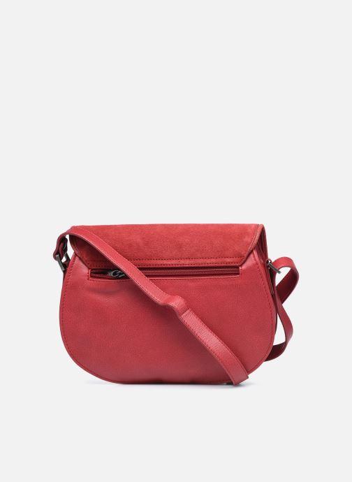 Handtaschen Sabrina LUCE rot ansicht von vorne