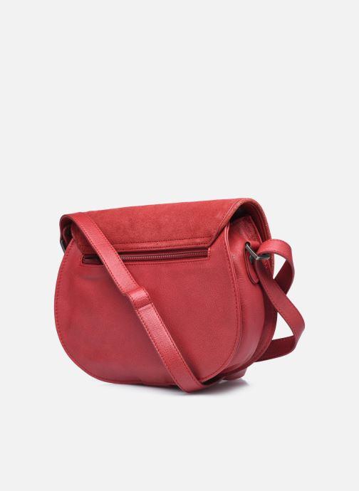 Handtaschen Sabrina LUCE rot ansicht von rechts