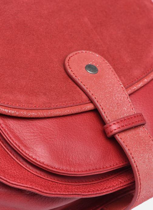 Handtaschen Sabrina LUCE rot ansicht von links