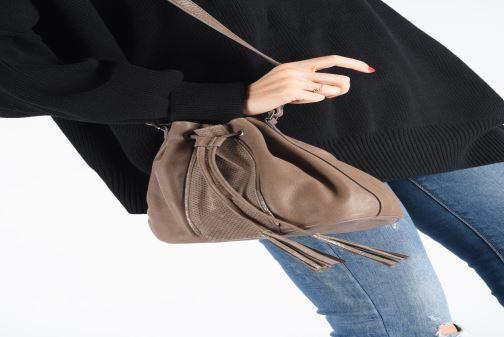 Sacs à main Sabrina ASTRID Noir vue bas / vue portée sac