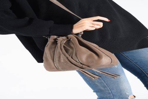 Handbags Sabrina ASTRID Grey view from underneath / model view