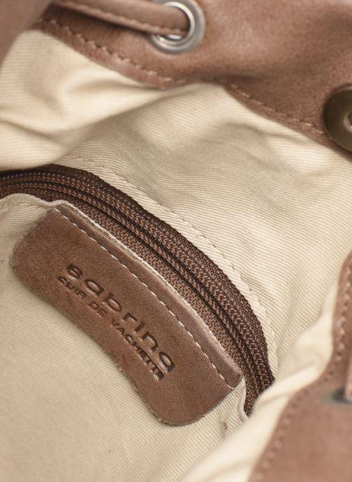 Handväskor Sabrina ASTRID Brun bild från baksidan