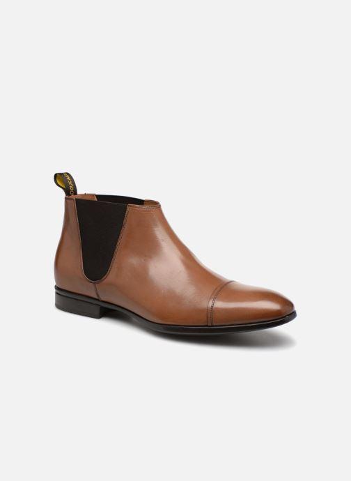 Bottines et boots Doucal's ORSON Marron vue détail/paire