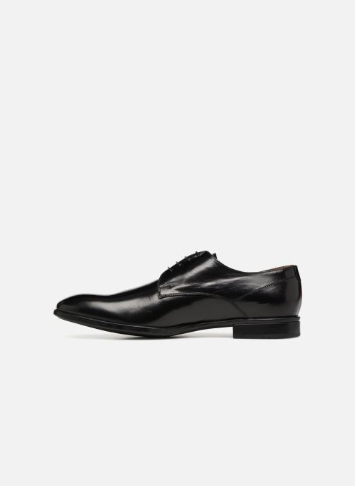 Lace-up shoes Doucal's LUCCA Black front view