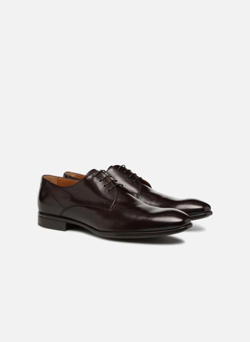 Zapatos con cordones Doucal's LUCCA Marrón vista 3/4