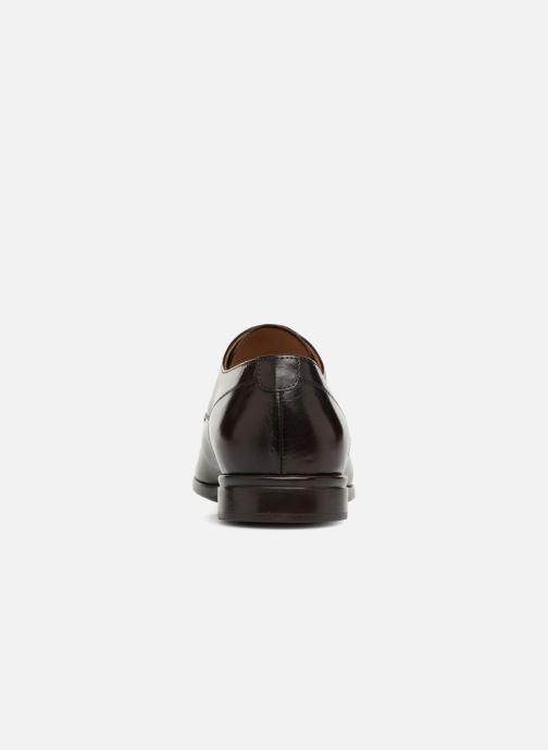 Zapatos con cordones Doucal's LUCCA Marrón vista lateral derecha