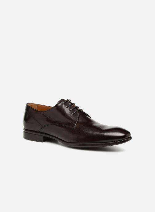 Snörade skor Doucal's LUCCA Brun detaljerad bild på paret
