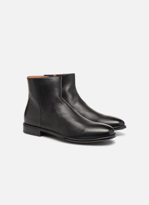 Bottines et boots Doucal's LUIGI Noir vue 3/4