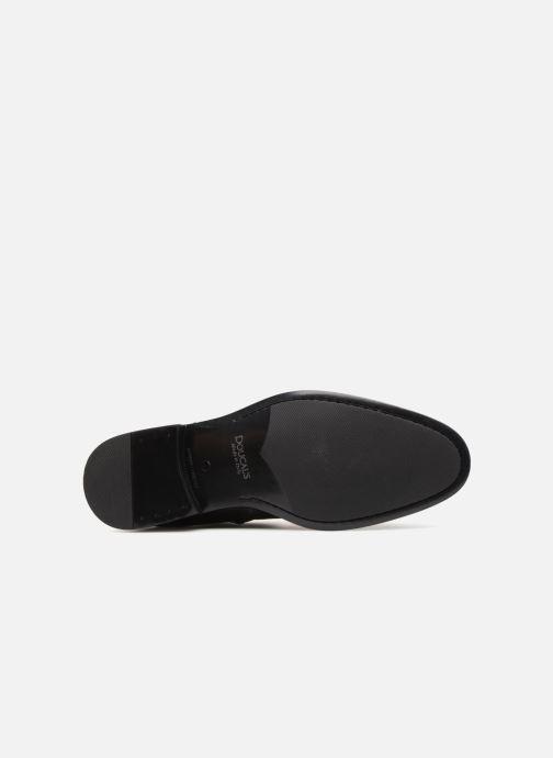 Bottines et boots Doucal's LUIGI Noir vue haut