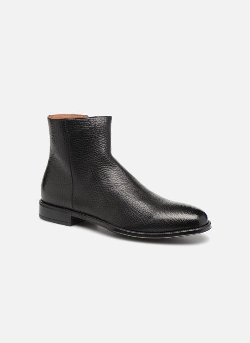 Bottines et boots Doucal's LUIGI Noir vue détail/paire