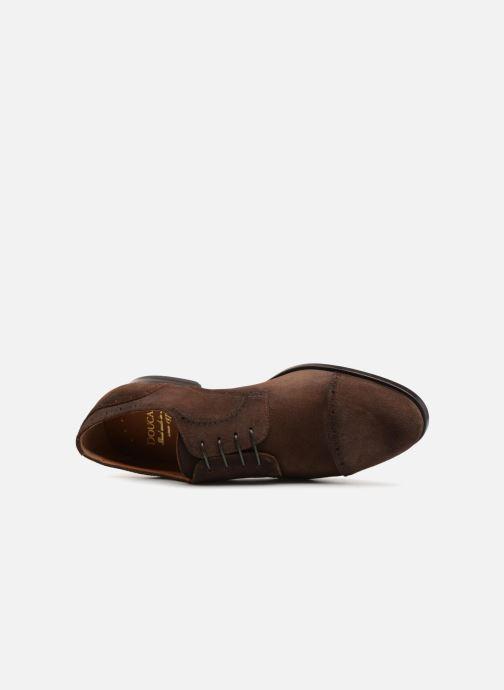 Chaussures à lacets Doucal's ORLAN Marron vue gauche