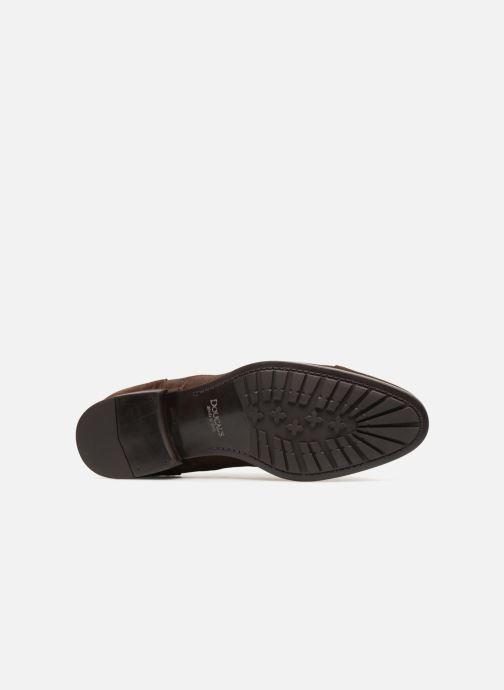 Chaussures à lacets Doucal's ORLAN Marron vue haut