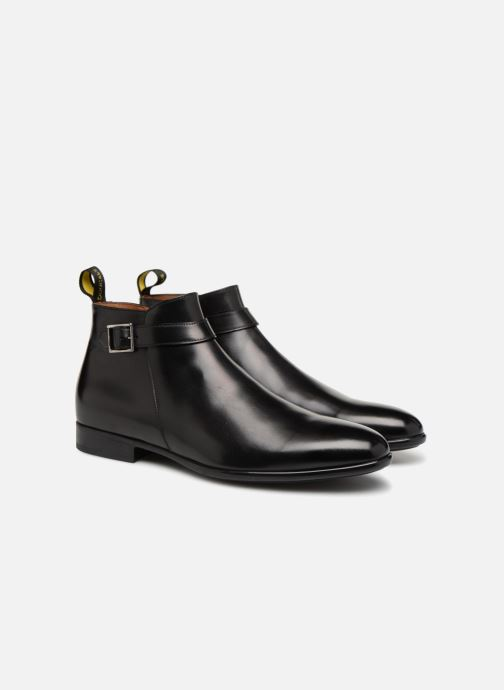 Ankle boots Doucal's LEO Black 3/4 view