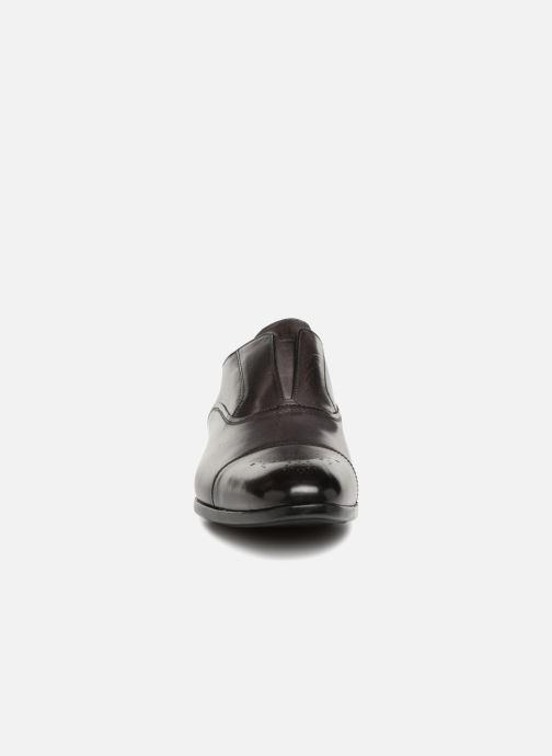 Mocassins Doucal's LANCE Gris vue portées chaussures