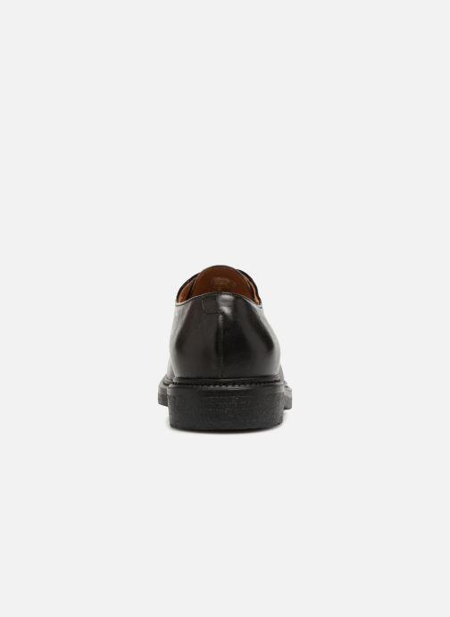 Chaussures à lacets Doucal's LOIC Gris vue droite