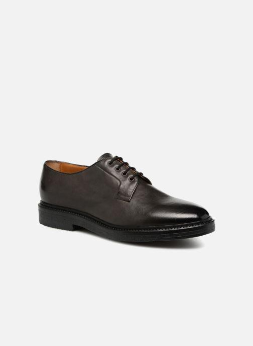 Chaussures à lacets Doucal's LOIC Gris vue détail/paire