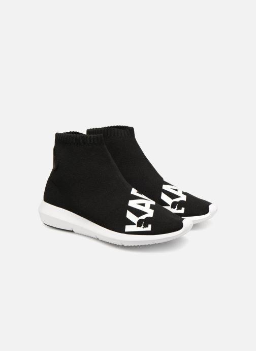 Sneakers Karl Lagerfeld Vitesse Legere Knit Karl Print Zwart 3/4'