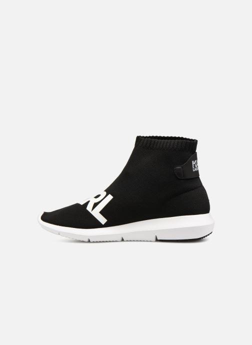 Sneakers Karl Lagerfeld Vitesse Legere Knit Karl Print Zwart voorkant
