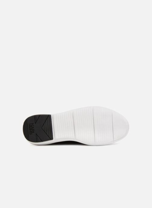 Sneakers Karl Lagerfeld Vitesse Legere Knit Karl Print Zwart boven