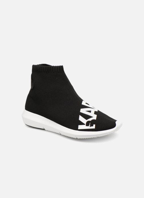Sneakers Karl Lagerfeld Vitesse Legere Knit Karl Print Zwart detail