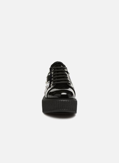 Chaussures à lacets Karl Lagerfeld Kreeper Celestia Lace Noir vue portées chaussures