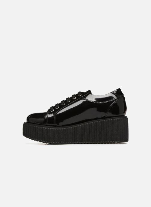 Chaussures à lacets Karl Lagerfeld Kreeper Celestia Lace Noir vue face