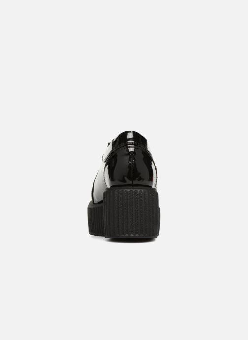 Chaussures à lacets KARL LAGERFELD Kreeper Celestia Lace Noir vue droite