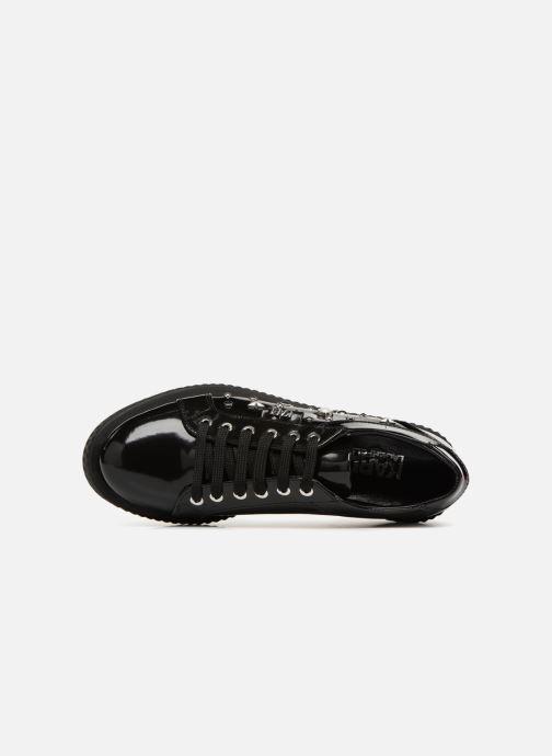 Chaussures à lacets Karl Lagerfeld Kreeper Celestia Lace Noir vue gauche