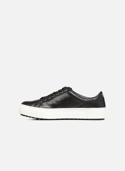 cb717466c9f KARL LAGERFELD Luxor Kup Cat Pearl Lace Up (Black) - Trainers chez ...