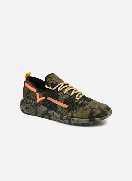 Sneakers Diesel SKB S-KBY Grön detaljerad bild på paret