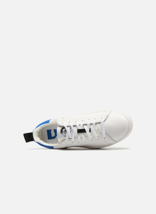 Sneakers Diesel CLEVER S-CLEVER LOW Bianco immagine sinistra