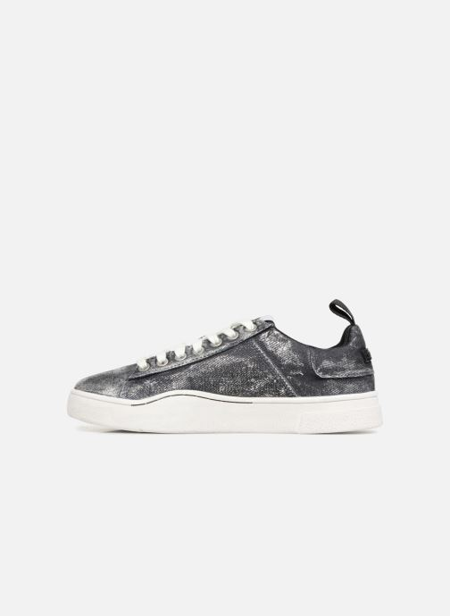 Sneakers Diesel CLEVER S-CLEVER LOW W Argento immagine frontale