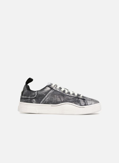 Trainers Diesel CLEVER S-CLEVER LOW W Silver back view