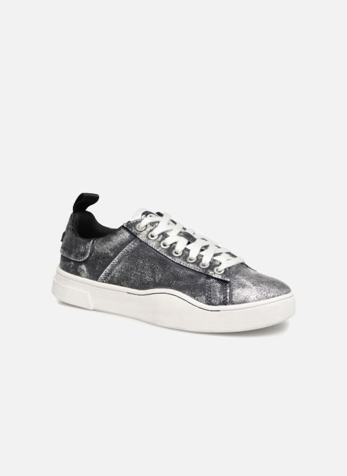 Trainers Diesel CLEVER S-CLEVER LOW W Silver detailed view/ Pair view
