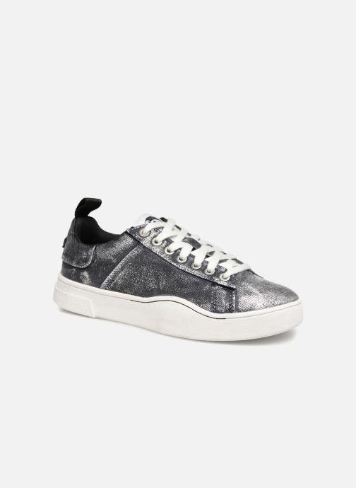 Sneakers Diesel CLEVER S-CLEVER LOW W Silver detaljerad bild på paret
