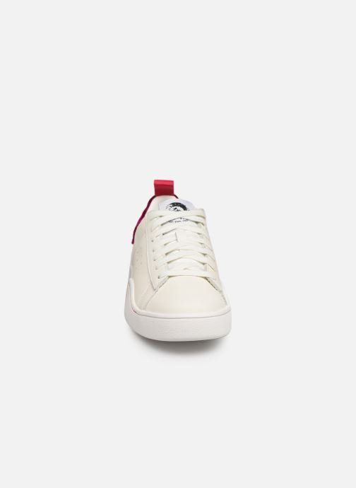 Baskets Diesel CLEVER S-CLEVER LOW W Blanc vue portées chaussures