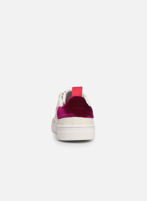 Baskets Diesel CLEVER S-CLEVER LOW W Blanc vue droite