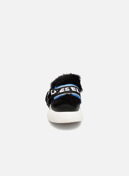 """Baskets Diesel 355 FLIP"""" S-FLIP LOW W Noir vue portées chaussures"""
