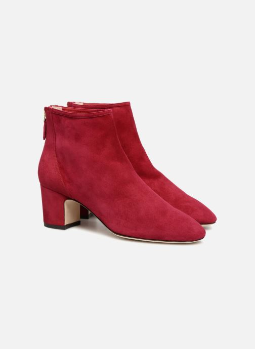 Bottines et boots L.K. Bennett Alyss Rouge vue 3/4