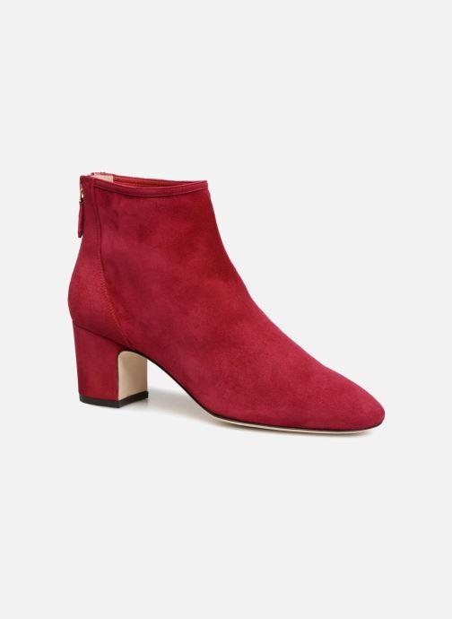 Bottines et boots L.K. Bennett Alyss Rouge vue détail/paire