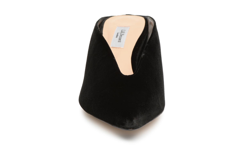 Clogs & Pantoletten L.K. Bennett Celia schwarz schuhe getragen
