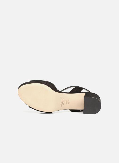 Sandales et nu-pieds L.K. Bennett Keriss Noir vue haut