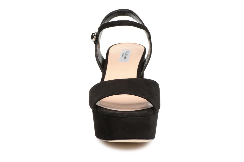 Sandalen L.K. Bennett Keriss schwarz schuhe getragen